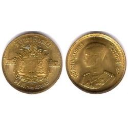 (Y80) Tailandia. 1957(2500). 25 Satang (EBC+)