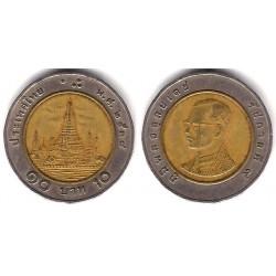 (Y227) Tailandia. 1995(2538). 10 Baht (BC+)