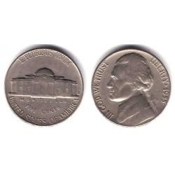 (A192) Estados Unidos de América. 1955. 5 Cents (BC)