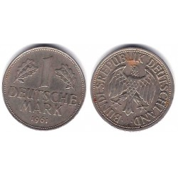 (110) Alemania. 1961(J). 1 Mark (MBC)