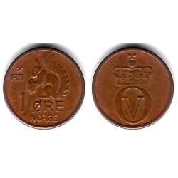 (403) Noruega. 1971. 1 Ore (EBC)