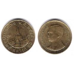 (Y187) Tailandia. 2002(2545). 25 Satang (BC)