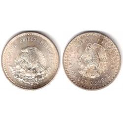 (465) Estados Unidos Mexicanos. 1948. 5 Pesos (SC) (Plata)