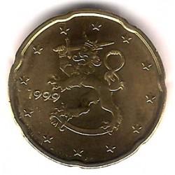 Finlandia. 1999. 20 Céntimos (SC)
