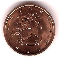 Finlandia. 2003. 2 Céntimos (SC)