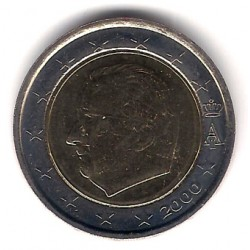 Bélgica. 2000. 2 Euro (SC)