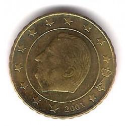 Bélgica. 2001. 10 Céntimos (SC)