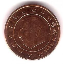 Bélgica. 2003. 2 Céntimos (SC)