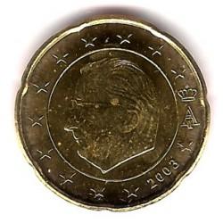 Bélgica. 2003. 20 Céntimos (SC)