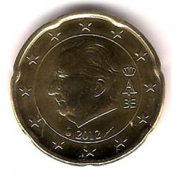 Bélgica. 2012. 20 Céntimos (SC)