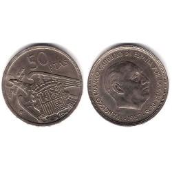 Estado Español. 1957*(67). 50 Pesetas (MBC)