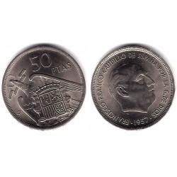 Estado Español. 1957*(71). 50 Pesetas (EBC+)