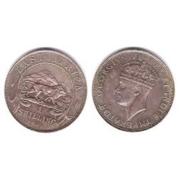 (28.1) Africa Oriental. 1944. 1 Shilling (EBC) (Plata)