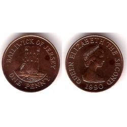 (54) Jersey. 1990. 1 Penny (SC)