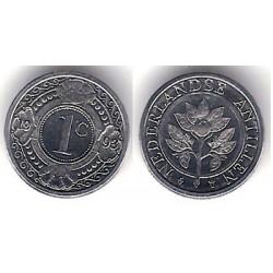 (32) Antillas Neerlandesas. 1993. 1 Cent (SC)
