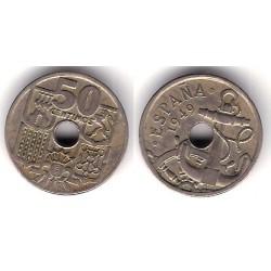 Estado Español. 1949*(19-56). 50 Céntimos (MBC-)
