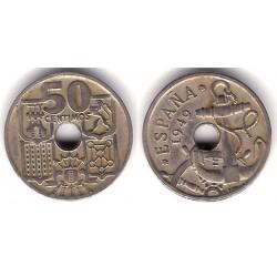 Estado Español. 1949*(19-54). 50 Céntimos (BC)