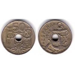 Estado Español. 1949*(19-62). 50 Céntimos (BC)