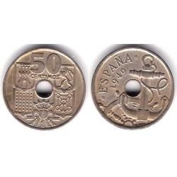 Estado Español. 1949*(19-56). 50 Céntimos (MBC)