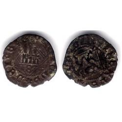 Enrique IV. 1454-74. Dinero (BC) Ceca de Sevilla