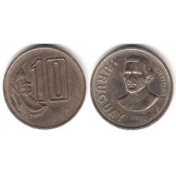 (79) Uruguay. 1981. 10 Nuevos Pesos (MBC)