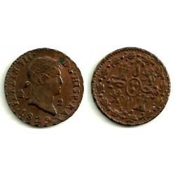 Fernando VII. 1829. 2 Maravedi (EBC) Ceca de Segovia