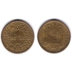 Estado Español. 1944. 1 Peseta (EBC)