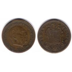 Estado Español. 1947*(19-49). 1 Peseta (MBC)