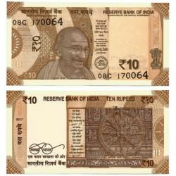 India. 2017. 10 Rupee (SC)