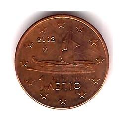 Grecia. 2002. 1 Céntimo (SC)