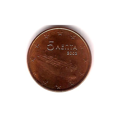 Grecia. 2002. 5 Céntimos (SC)