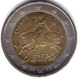 Grecia. 2002. 2 Euro (SC)