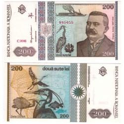(100) Rumania. 1992. 200 Lei (SC)