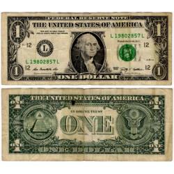 (530) Estados Unidos de América. 2009. 1 Dollar (BC+)