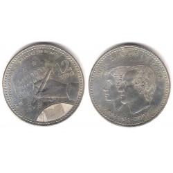 España. 2007. 12 Euro (SC) (Plata)