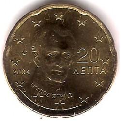 Grecia. 2004. 20 Céntimos (SC)