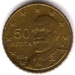 Grecia. 2004. 50 Céntimos (SC)