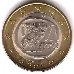 Grecia. 2004. 1 Euro (SC)