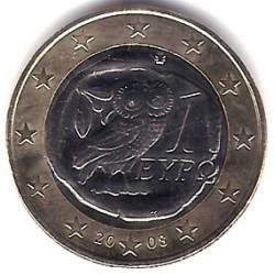 Grecia. 2008. 1 Euro (SC)