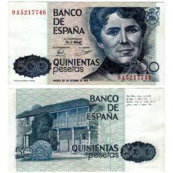 España. 1979. 500 Pesetas (SC) Serie 9A