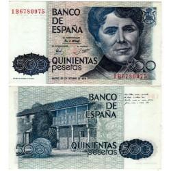 España. 1979. 500 Pesetas (SC) Serie 1B