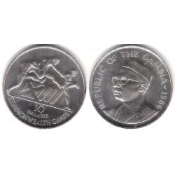 (23) Gambia. 1986. 10 Dalasis (SC-) (Plata)