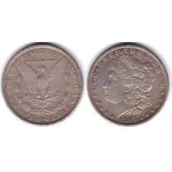 (110) Estados Unidos de América. 1901(O). 1 Dollar (MBC+) (Plata)