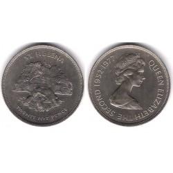 (6) Santa Helena. 1977. 25 Pence (SC)