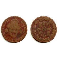 Fernando VII. 1816. 2 Cuartos (RC) Ceca de Mejico