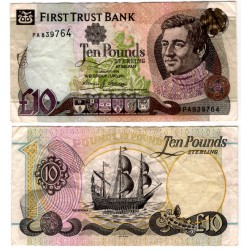 (136a) Irlanda del Norte. 1998. 10 Pounds Sterling (MBC)