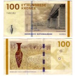 (66b) Dinamarca. 2010. 100 Kroner (MBC+)