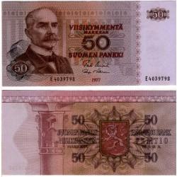 (108a) Finlandia. 1977. 50 Markkaa (EBC)