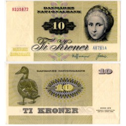 (48f) Dinamarca. 1976. 10 Kroner (EBC)