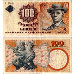 (61a) Dinamarca. 2002. 100 Kroner (MBC)